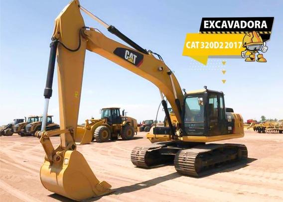 Excavadora Cat 320d2 2017