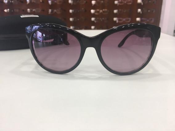 Óculos De Sol Max&co Acetato Preto Poá Bolinha Feminino