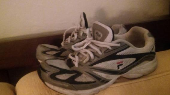 Zapatillas Fila Tenis Talle 43, Muy Buen Estado