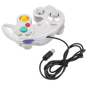 Controle Game Cube Nintendo Shock Wired Gamecube Wi Original
