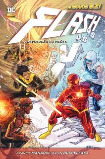 Hq Flash Os Novos 52! A Revolução Dos Vilões - Lacrado