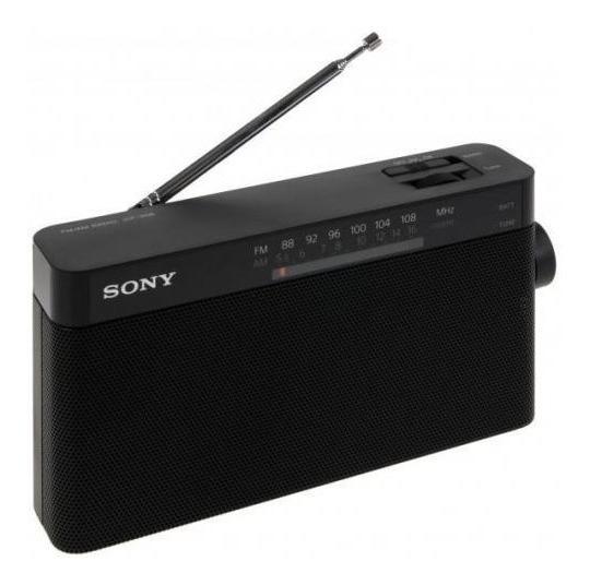 Rádio Portátil Sony Icf-306 Am/fm Original