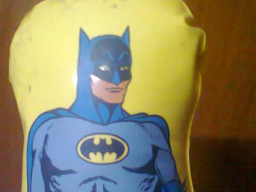 Muñeco Inflable Batman Clasico Tentenpie Dc Comic Retro Kxz