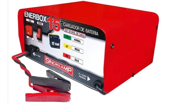 Cargador De Baterias Sincrolamp Enerbox 15- 7 Amp/hora