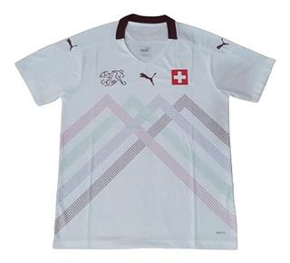 Camisas De Time Camiseta Seleção Suíça 2019/2020