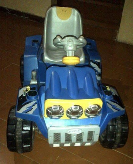 Carro De Batería Para Niños Tipo Jeep .