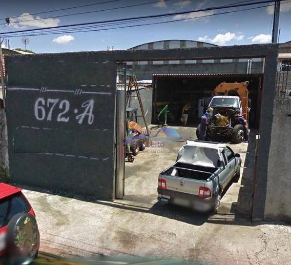 Terreno Para Alugar, 230 M² Por R$ 3.000/mês - Vila Antonieta - São Paulo/sp - Te0040
