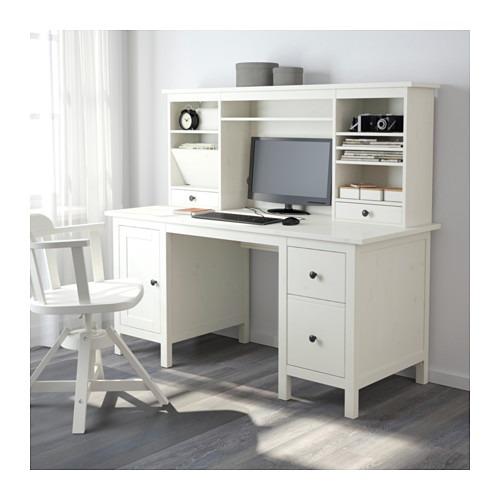 Escritorio Hemnes Ikea Con Cajones, Ikea Hemnes Secretary Desk