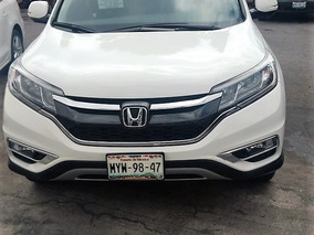 Honda Crv 2016, 2.4 Exl Navi Mt,piel Termica