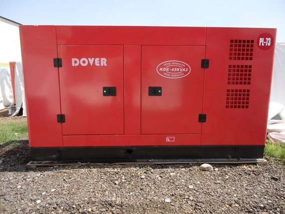 Generador De Luz Y Emergencia Dover 30 Kw 127/220 V Nuevo