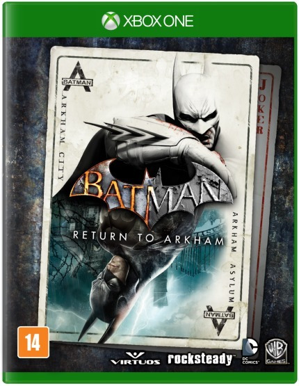 Batman Return To Arkham Edição Limitada Xbox One Lacrado
