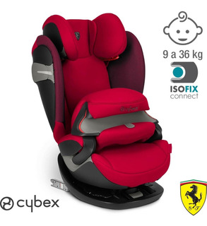 Butaca Bebe Auto Cybex Pallas S Iso Fix Ferrari 9 A 36 Kg
