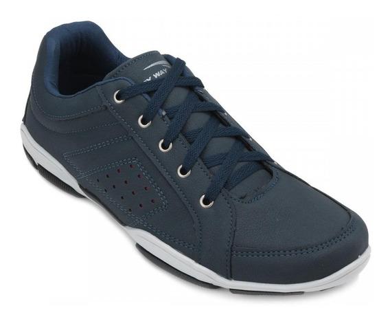Sapato Masc Tamanho Especial Sapatênis Tryway 44-45-46-47-48