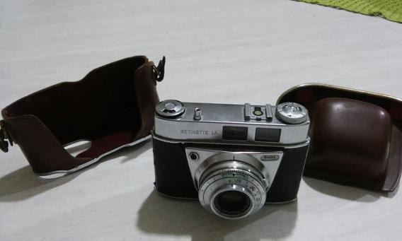 Antiga Camera Fotografica Kodak Retinete