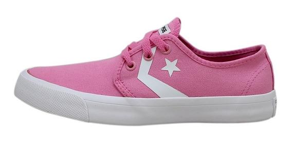 Tênis All Star Rosa/branco Original