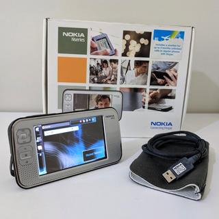 Nokia N800 Impecavel Caixa Manuais Cabo Usb Capa