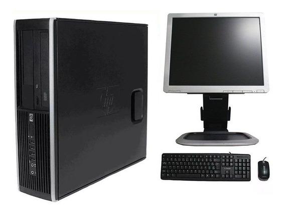 Computador Hp Elite 8300 I3 8gb 240ssd Monitor 17 Polegadas