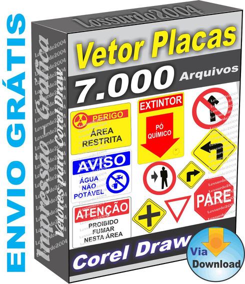 Kit De Vetores Placas De Sinalização Normas Vetor Corel Draw
