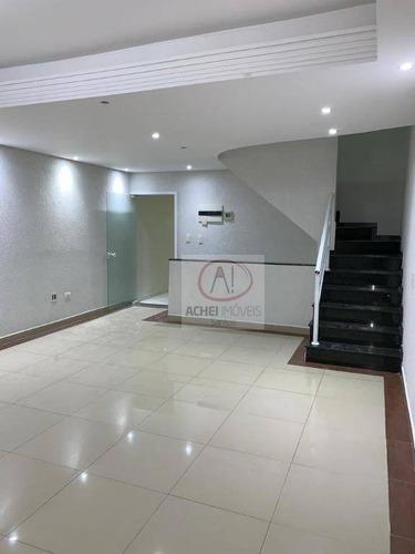 Casa Com 4 Dormitórios À Venda, 222 M² Por R$ 650.000 - Vila São Jorge - São Vicente/sp - Ca1689