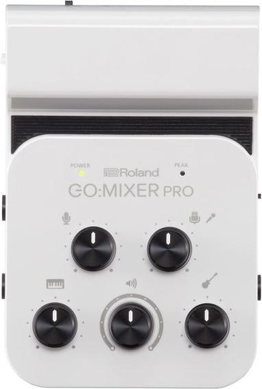 Interface Audio Roland Go Mixer Pro P/smartphones Gomixer