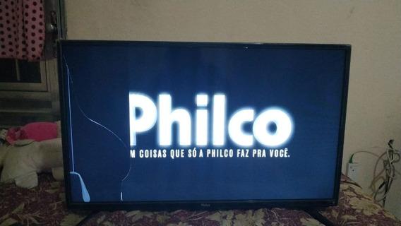 Smart Tv Philco 28 Polegadas Tela Quebrada