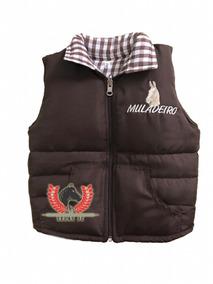 Colete Country Muladeiro Infantil M4 - Frete Grátis