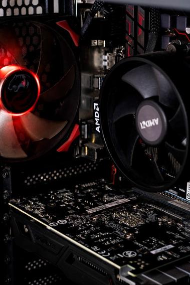 Computador Gamer Ryzen 1600+gtx 1050ti