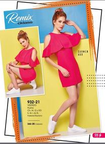 Vestido Rosa Olanes Cklass/ Mundo Outlet