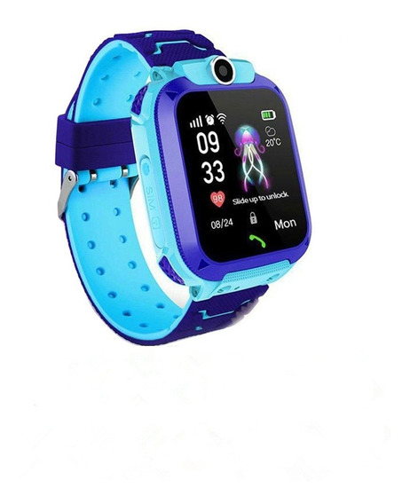 Reloj Inteligente Q12 C/pantalla Táctil Impermeable P/niños