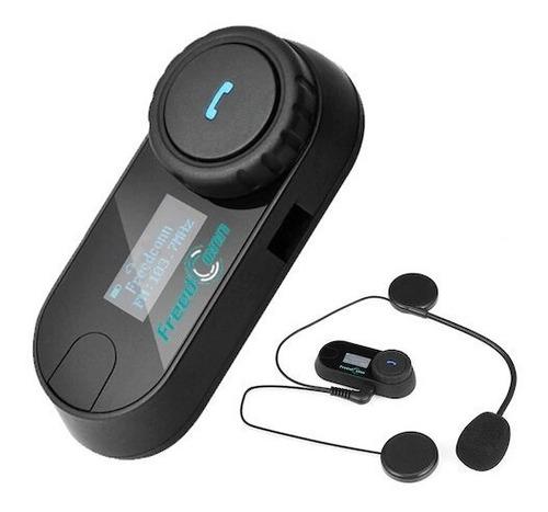 Intercomunicador Para Moto (t-com Sc-bluetooth 4.1-pantalla)