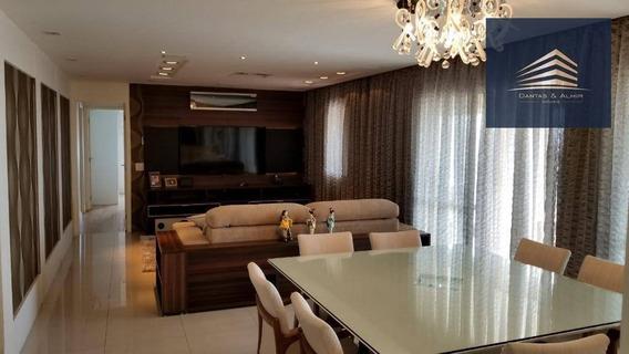 Apartamento No Condomínio Parque Clube, 150m², 3 Suítes, 3 Vagas, Vista Livre. - Ap0809