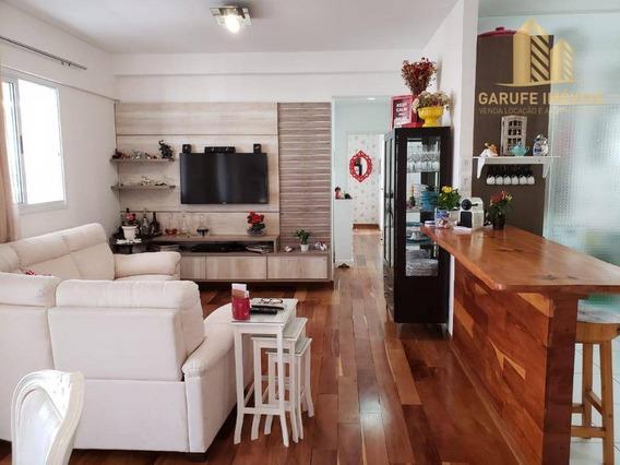 Apartamento Com 3 Dormitórios À Venda, 104 M² Por R$ 745.000,00 - Vila Adyana - São José Dos Campos/sp - Ap1427