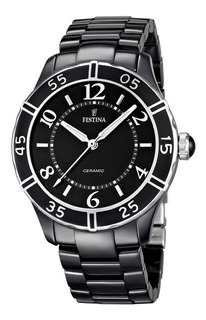 Reloj Festina Ceramica F16621/2 Mujer Agente Oficial