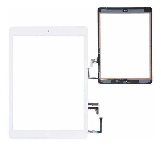 Tela Visor Vidro Touch Screen Apple iPad Air 2013 9.7 Polegadas A1474 A1475 A1476 Branco