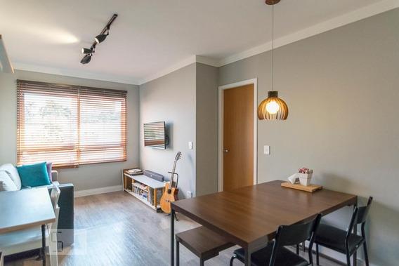 Apartamento No 3º Andar Com 1 Dormitório E 2 Garagens - Id: 892947866 - 247866