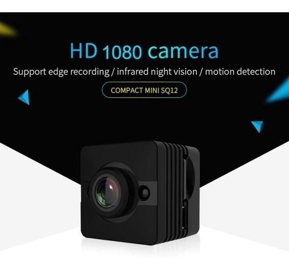 Mini Camera Filmadora Sq12 1080p Full Hd Dash Cam Espia