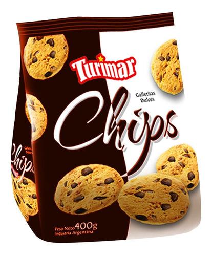 Caja De Galletitas Chips Turimar X 16 U