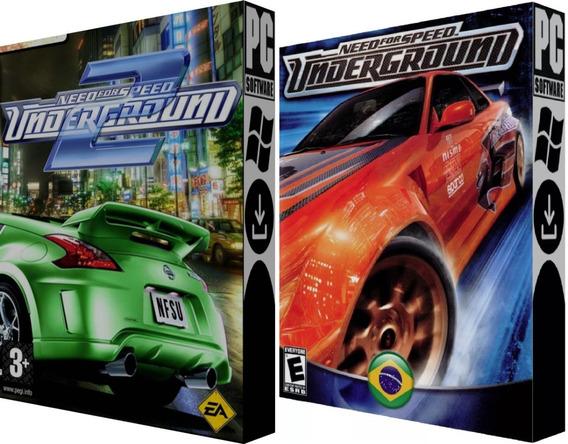 Need For Speed: Underground 1 & 2 Br - Digital - Pc