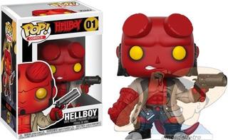 Figura Hellboy Funko Pop Nº 01 Nuevo En Caja