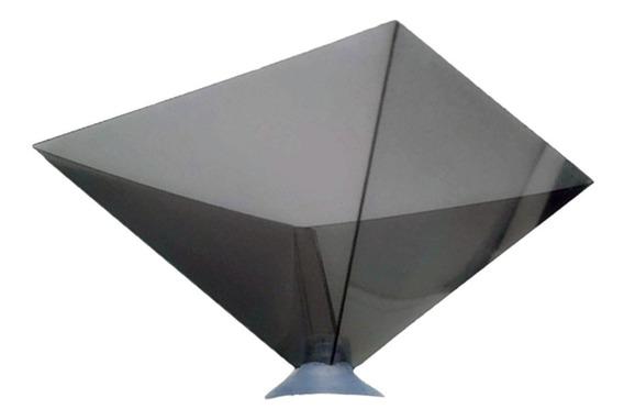 Projetor De Suporte De Pirâmide De Exibição Holográfica 3d P
