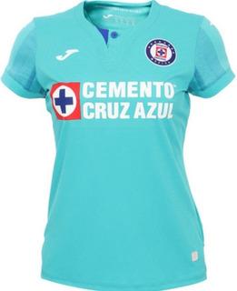 Jersey Joma Cruz Azul 100% Original Alternativo Mujer 2020