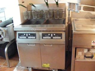 Freidora Industrial Doble Frymaster Con Filtro Infrarojos