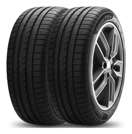 Kit 2 Pneu Pirelli Aro 17 225/50r17 98v Xl Cinturato P1 Plus
