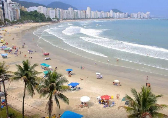 Apartamento Residencial Para Venda, Frente Ao Mar Praia Das - 1577