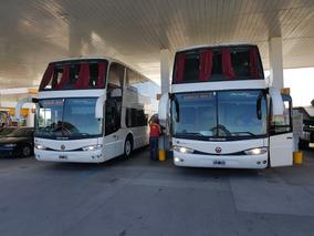 Omnibus Bus Año 2010 Marcopolo 56 Scania Habilitado C.n.r.t.