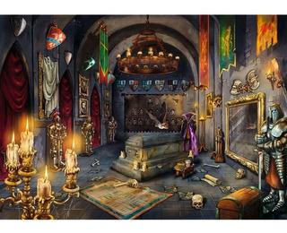 Rompecabezas Escape Ravensburger Castillo Vampiro 759 Piezas