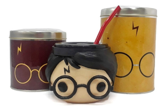 Mate Harry Potter + Azucarero + Yerbero