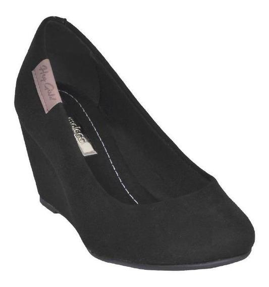 Sapato Moleca Camurça