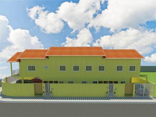 Casa, 1 Dorms Com 45 M² - Parque Das Americas - Praia Grande - Ref.: Fd247 - Fd247