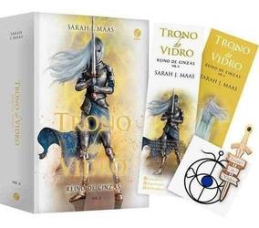 Livro Trono De Vidro - Reino De Cinzas Volume 6 + Brindes